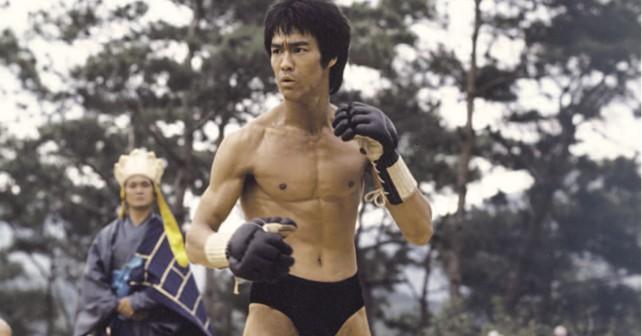 Bruce Lee halbnackt