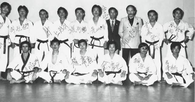 Gruppenbild Tatsuhiko Hattori